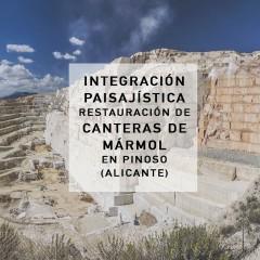 Integración Paisajística de la cantera el Coto, Alicante. 2013-2014