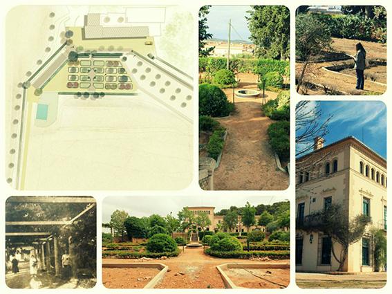 Restauración del jardín histórico de Casablanca en el municipio de Requena (Valencia) 2016