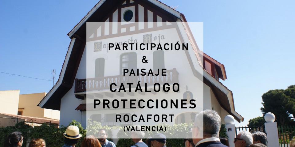 Participación & Paisaje_Catálogo de protecciones_ROCAFORT 2017