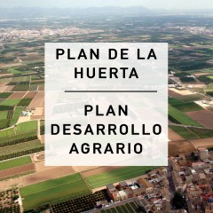 Plan de la huerta de Valencia