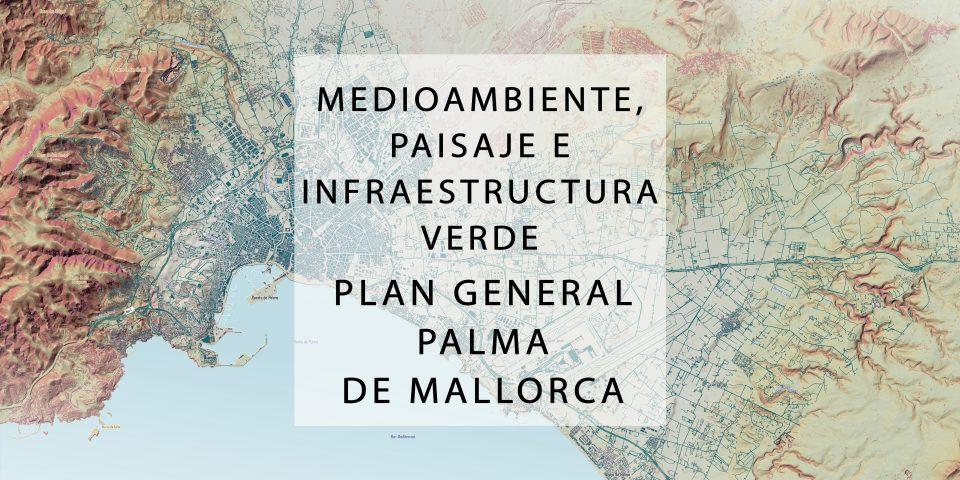 Medioambiente, paisaje e infraestructura verde Plan General de Palma de Mallorca_2019_2021