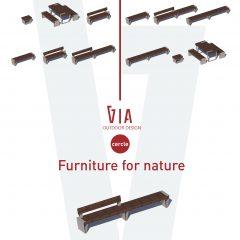 DISEÑO mobiliario VIA furniture for nature_2021