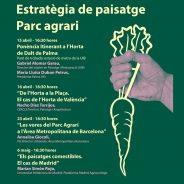 Cercle en las jornadas de la Estrategia de Paisaje de Palma. Parc Agrari