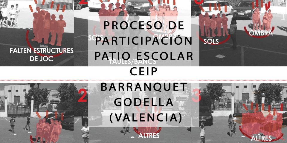 PROCESO DE PARTICIPACIÓN PATIO ESCOLAR CEIP BARRANQUET GODELLA (VALENCIA)